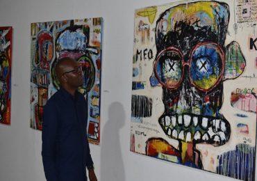 Exposition de Liby LOUGUE à l'Institut Français de Ouagadougou