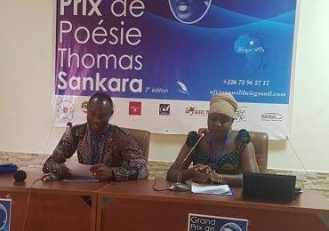 """Grand Prix de la Poésie  """"Thomas Sankara"""": Le comité d'organisation dévoile le programme"""