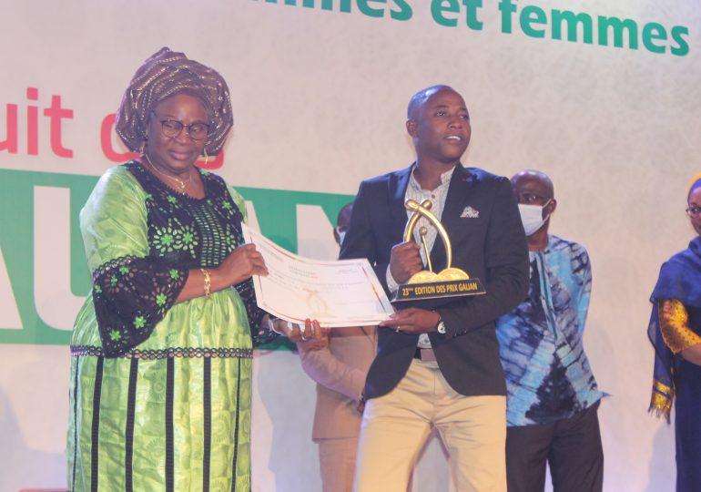 Le super Galian décerné à Tigah Cheick SAWADOGO du journal en ligne Lefaso.net