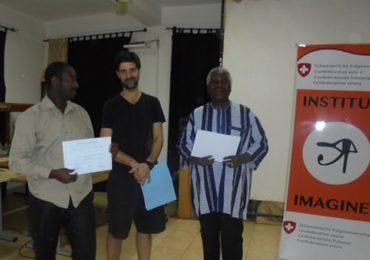 Institut Imagine : Fin de l'atelier de formation sur la mise en scène