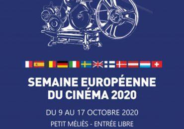 Semaine européenne du cinéma à l'Institut Français du 9 au 17 Octobre 2020