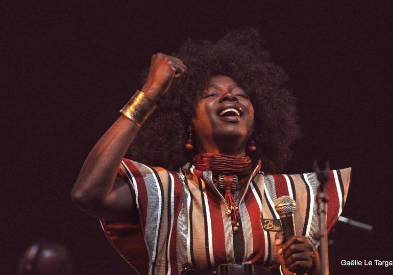 « La voix d'or du Faso » Kandy GUIRA finalistes du Prix des Musiques d'Ici 2020 en France