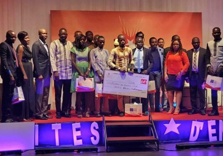 Pépite d'entreprise, 1ère édition : Abdou Rhamane Sanfo remporte la somme de 15 millions de F CFA