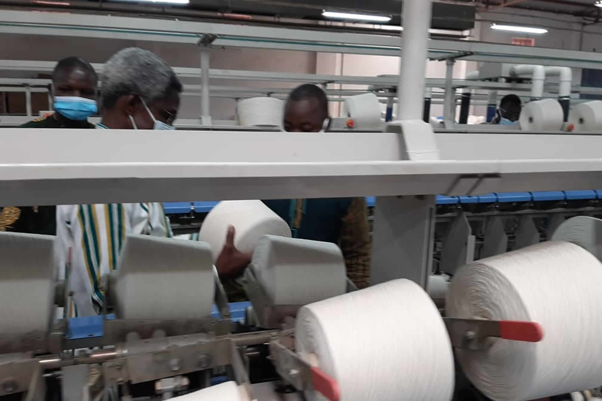 Coton burkinabè : Les premiers tissus 100% coton burkinabè sont disponibles