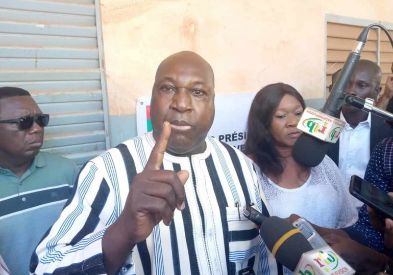Élections présidentielle et législativeau Burkina : Zéphirin DIABRE crie au scandale