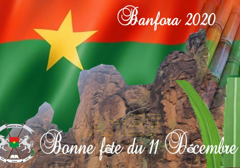 11 décembre à Banfora : Bonne fête à tous !