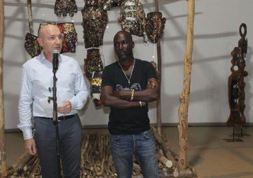 Abou SIDIBE présente son exposition « Hèremakono » à Institut Français de Ouagadougou