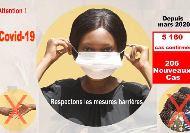 Covid-19 au Burkina : Deux nouveaux décès à la date du 19 décembre 2020