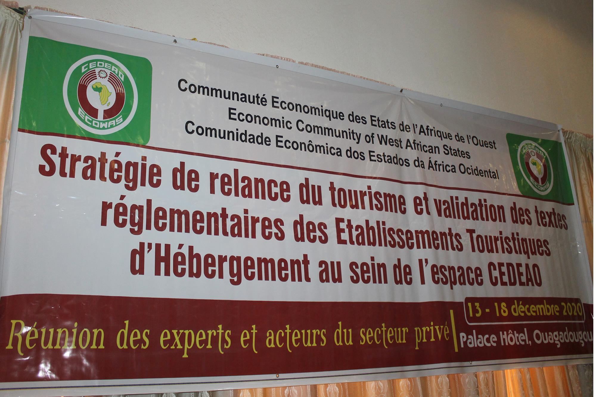 Stratégie de relance du tourisme dans l'espace CEDEAO