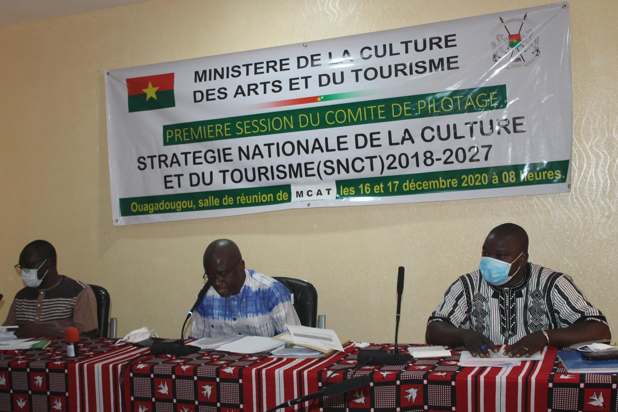 Culture : Ouverture de la première session du comité de pilotage de la stratégie nationale de la culture et du tourisme