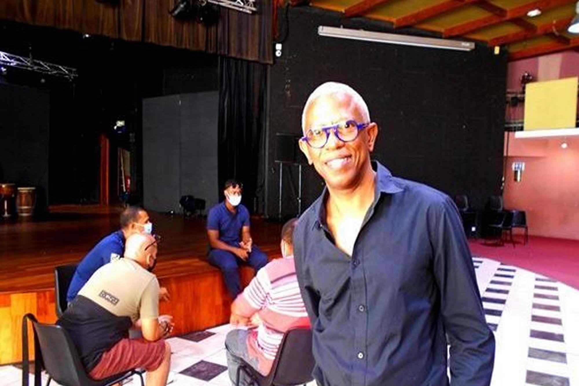 Gaston KABORE parrain de la 1ère École de Cinéma de Guadeloupe