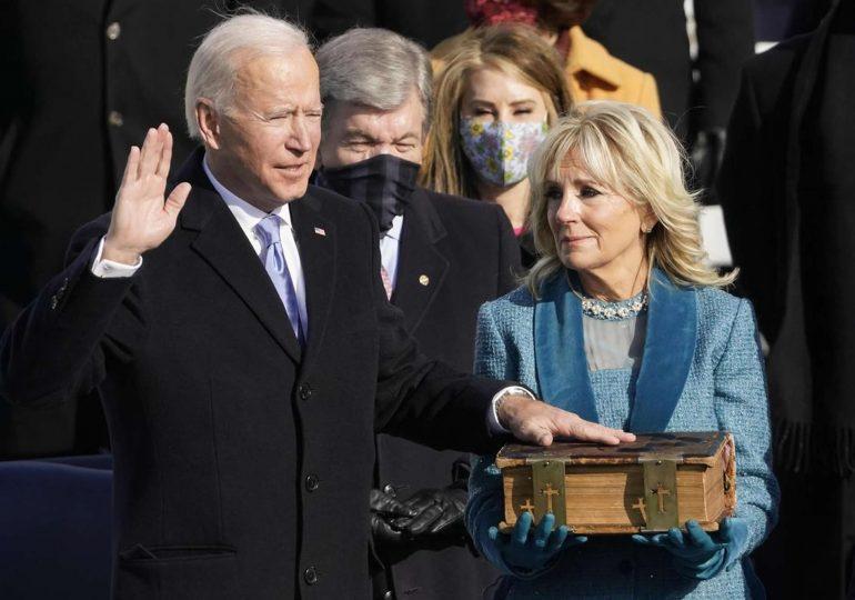 Investiture de Joe Biden : à Washington, une journée marquée par l'émotion et les appels à l'unité