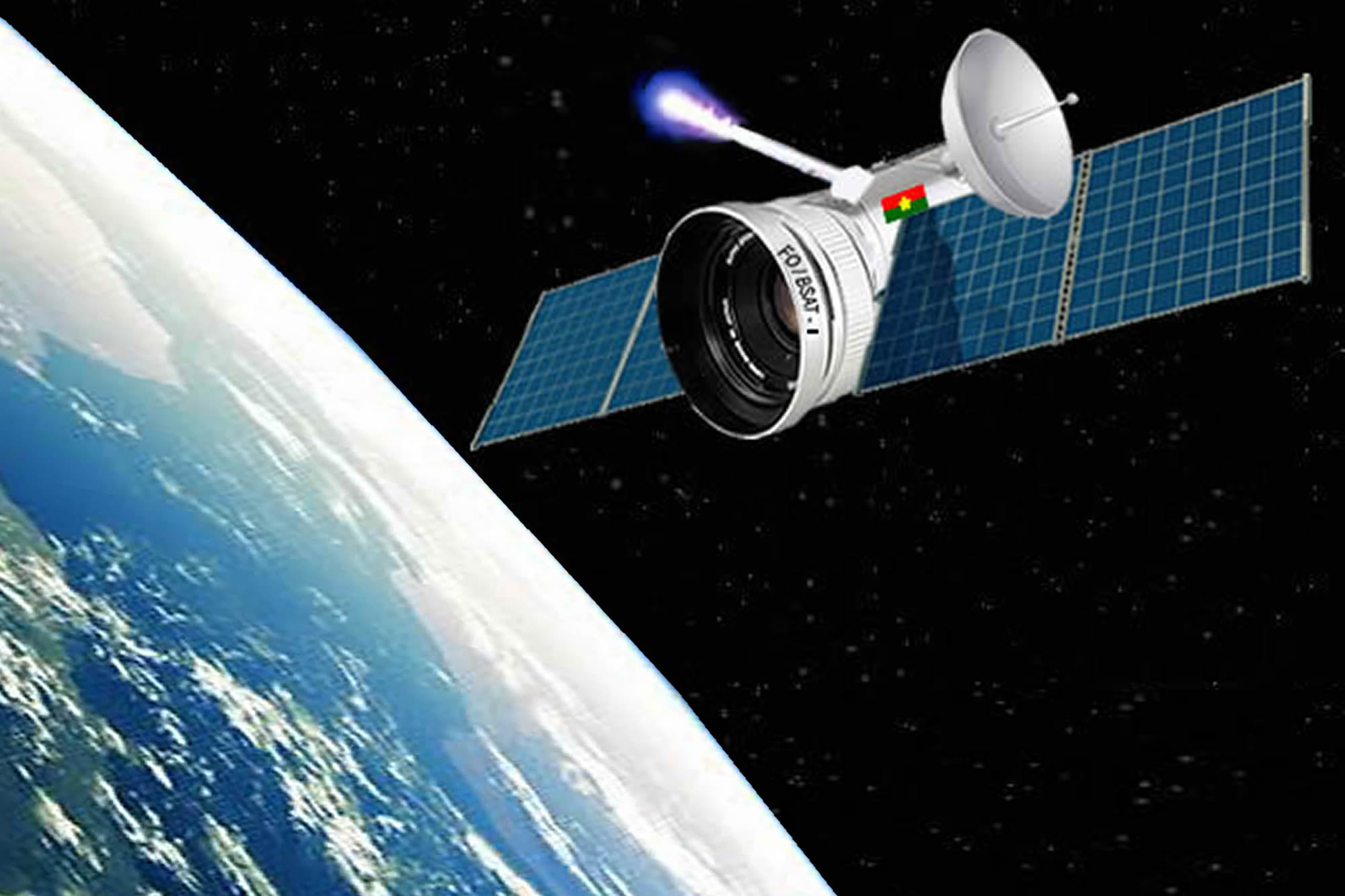 Recherches scientifiques : Burkina Sat-I, un Satellite Made in Burkina