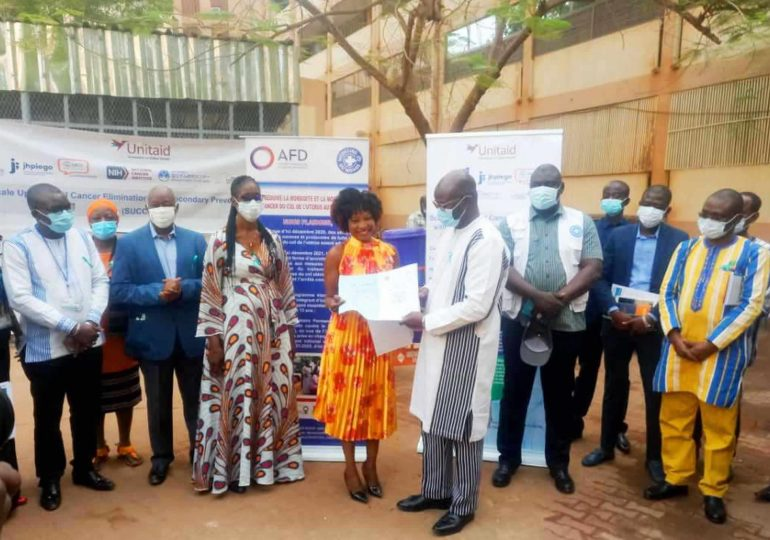 Journée mondiale contre le cancer du col de l'utérus : un plaidoyer des associations à l'endroit du Ministre de la santé