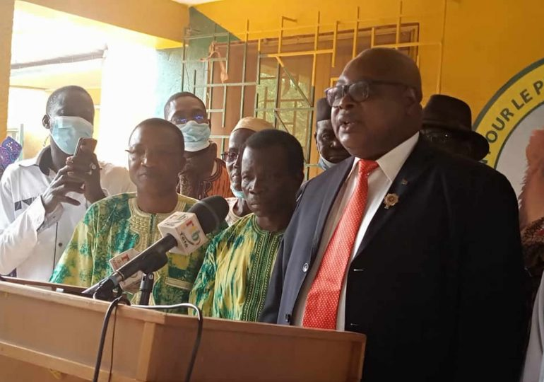 Ladji Coulibaly et sa délégation ont rejoint l'UPC
