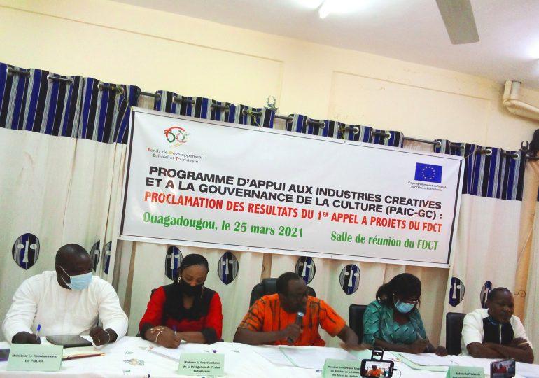 FDCT : Résultats du 1er appel à projets