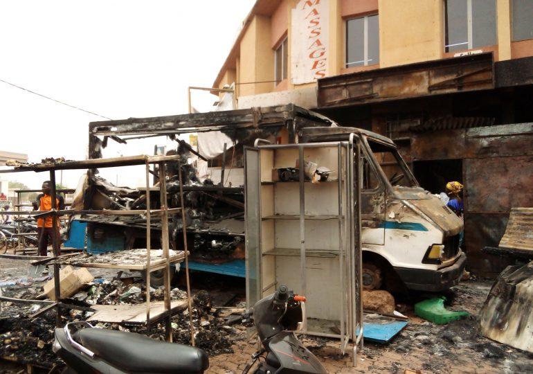 Sécurité: Incendie à l'alimentation la surface de Ouagadougou