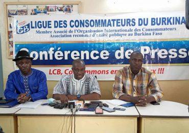 Société : La ligue des consommateurs du Burkina monte au créneau