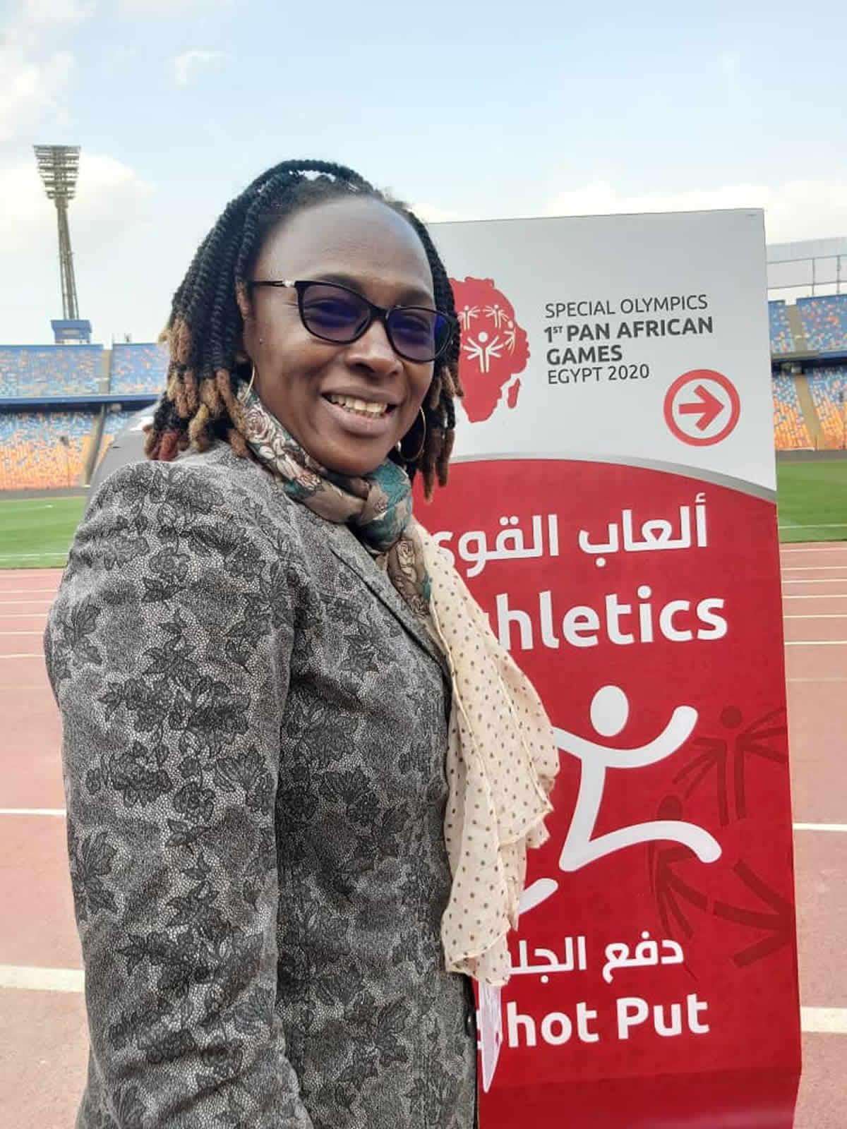 Sport : Annick PIGBOUGOUM, membre du Conseil de Leadership africain, un honneur fait à la femme ..