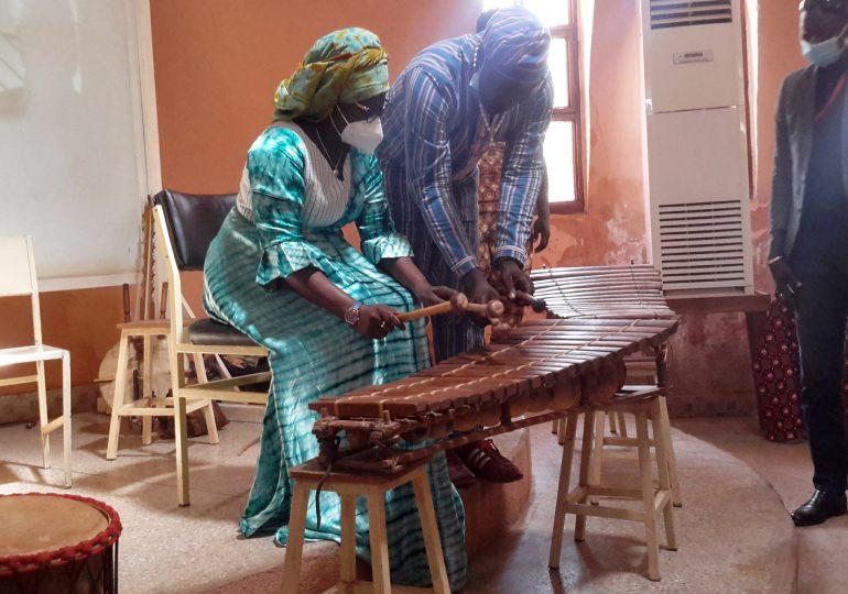 Visite muséale de Madame Dr Elise Fonyama Ilboudo/ Thiombiano: Ministre de la culture des arts et du tourisme.