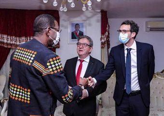 Burkina:Jean-Luc Mélenchon à l'Assemblée Nationale