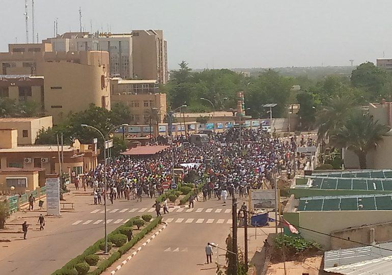BURKINA FASO : Marche de l'opposition politique