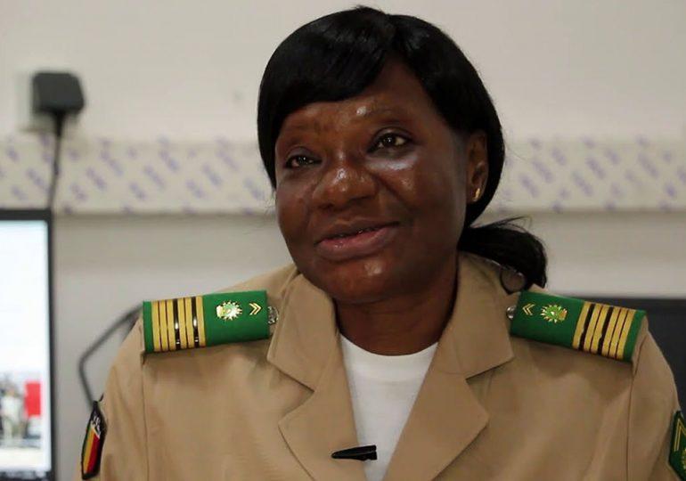 Société : Nana Sangaré, première femme à intégrer le collège de défense du G5 Sahel