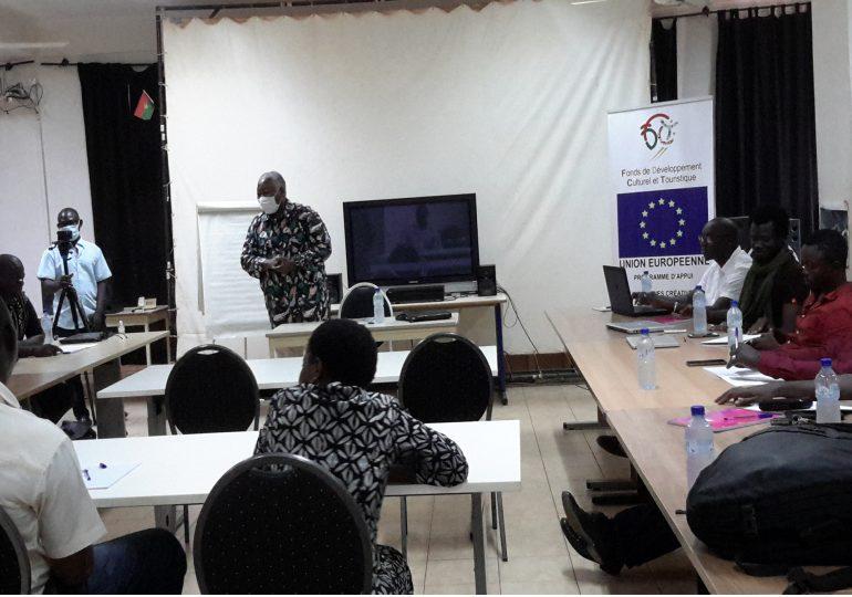 Institut Imagine: Atelier de renforcement des capacités des jeunes professionnels du cinéma