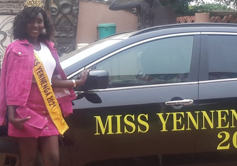 Miss YENNENGA: Mission accomplie, Natacha TRAORE reçoit sa voiture