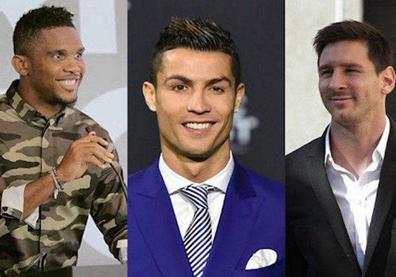 Top 20 des footballeurs les plus riches du monde en 2021 et leur valeur nette: Pogba 10e, Eto'o 15e, Drogba 17e…