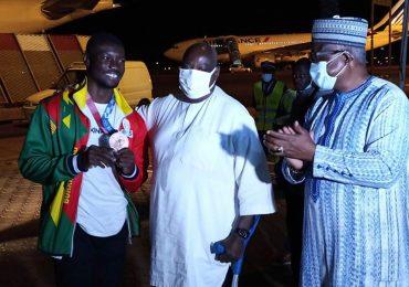 Burkina Faso: le médaillé olympique Hugues Fabrice Zango accueilli en héros à Ouagadougou
