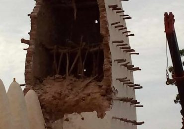 Culture: Effondrement d'une partie de la mosquée de Dioulassoba