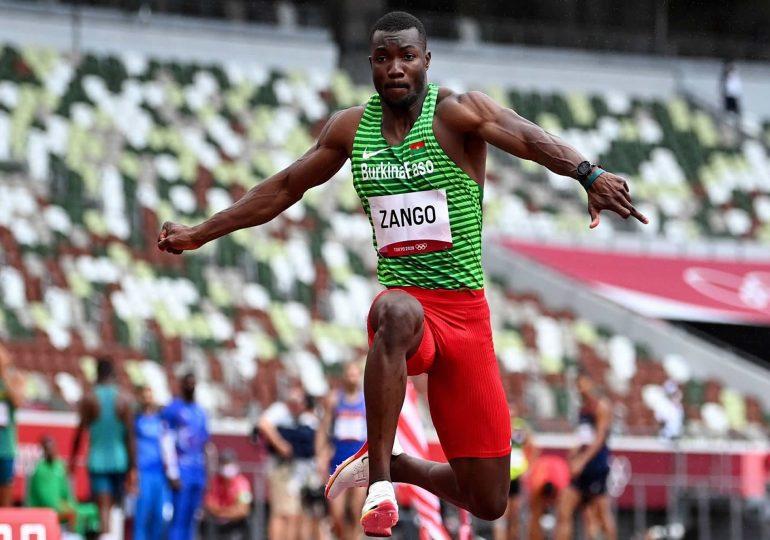 Jeux olympiques : Hugues Fabrice Zango qualifié de justesse !