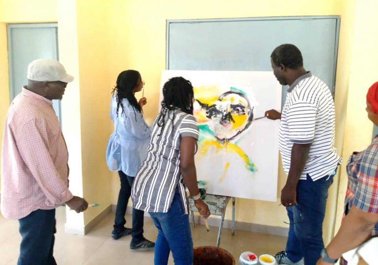 Formation en art contemporain : Renforcement de capacité de 08 artistes plasticiens