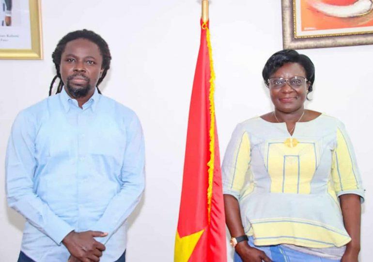 FESPACO 2021: photos de famille immortalisant l'audience accordée à une délégation sénégalaise, conduite par le Secrétaire permanent du Fonds de Promotion de l'Industrie Cinématographique (FOPIC).