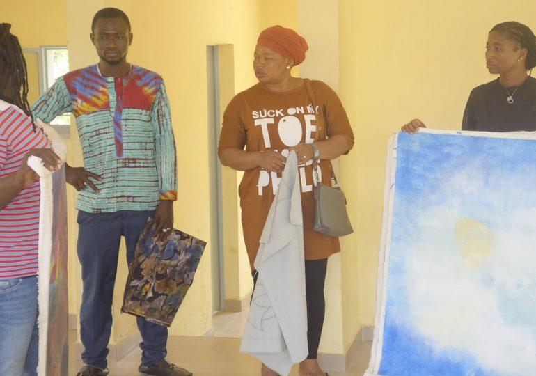 Formation en Art Contemporain à Laongo : Restitution des travaux