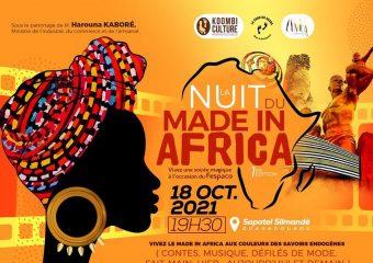 Fespaco 2021 : «La Nuit du Made in Africa»